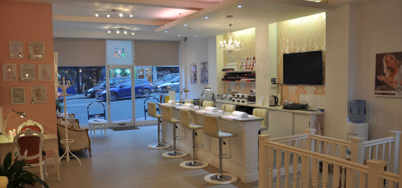 The lounge nail and beauty salon purley croydon contact us for Address beauty salon